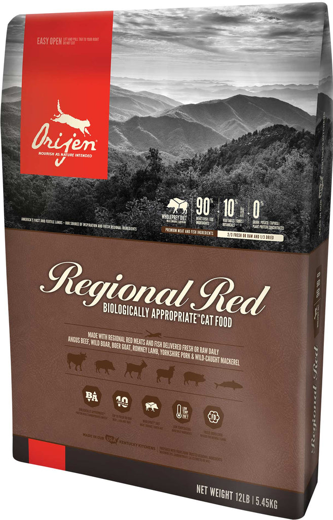 ORIJEN USA Regional Red Grain-Free Dry Cat Food