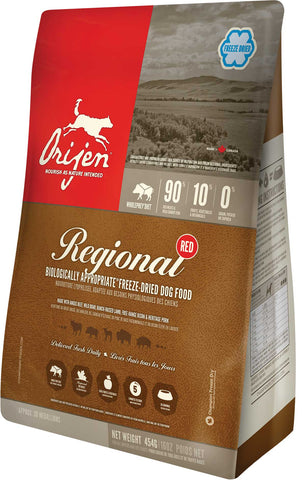 ORIJEN Regional Red Freezedried Dog Food