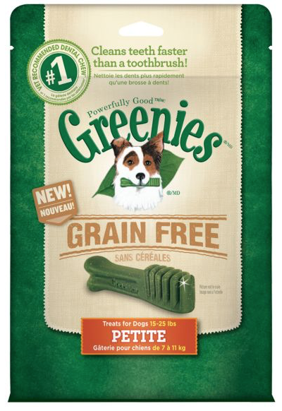 GREENIES Petite Grain-Free Dental Chew for Dogs