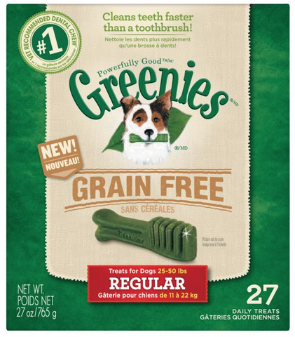 GREENIES Regular Grain-Free Dental Chew for Dogs