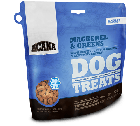ACANA Mackerel & Greens Freezedried Dog Treat