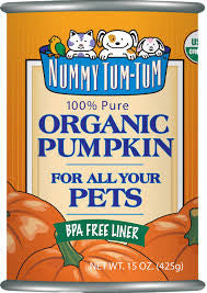 NUMMY TUM TUM 100% Organic Pumpkin 15oz can