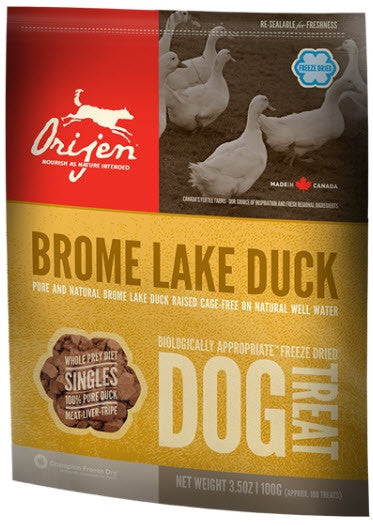 ORIJEN Duck Freezedried Dog Treat