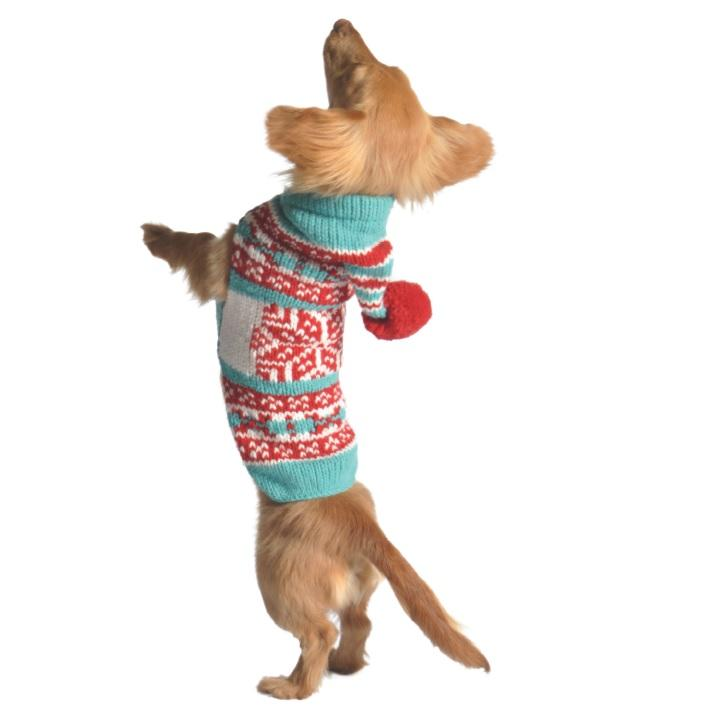 CHILLY DOG Peppermint Hoodie Sweater