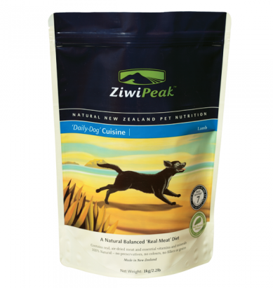 ZIWI PEAK Daily Dog Cuisine Lamb Real Meat Dog Food
