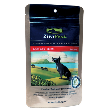 ZIWI PEAK Good Dog Venison Jerky Dog Treats