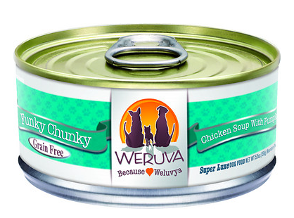 WERUVA Funky Chunky Grain-Free Canned Dog Food Case