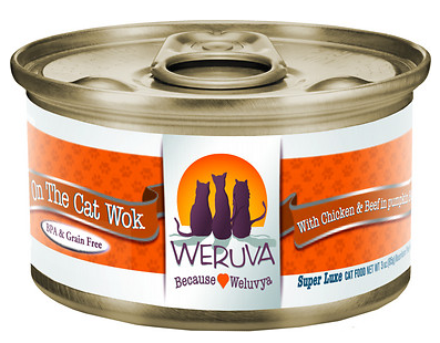 WERUVA On The Cat Wok Grain-Free Canned Cat Food Case