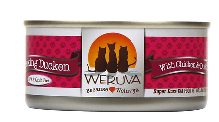 WERUVA Peking Ducken Grain-Free Canned Cat Food Case