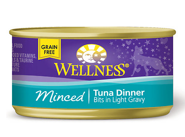 WELLNESS Minced Tuna Canned Cat Food Case
