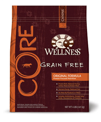 WELLNESS Core Original Grain-Free Dry Dog Food