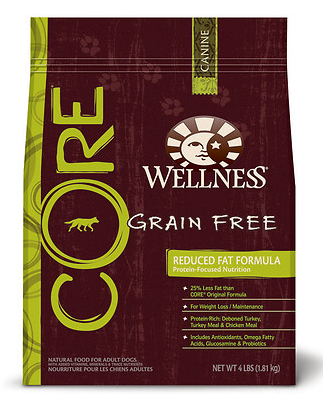 WELLNESS Core Reduced Fat Grain-Free Dry Dog Food