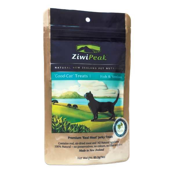 ZIWI PEAK Good Cat Venison Cat Treat 3 oz