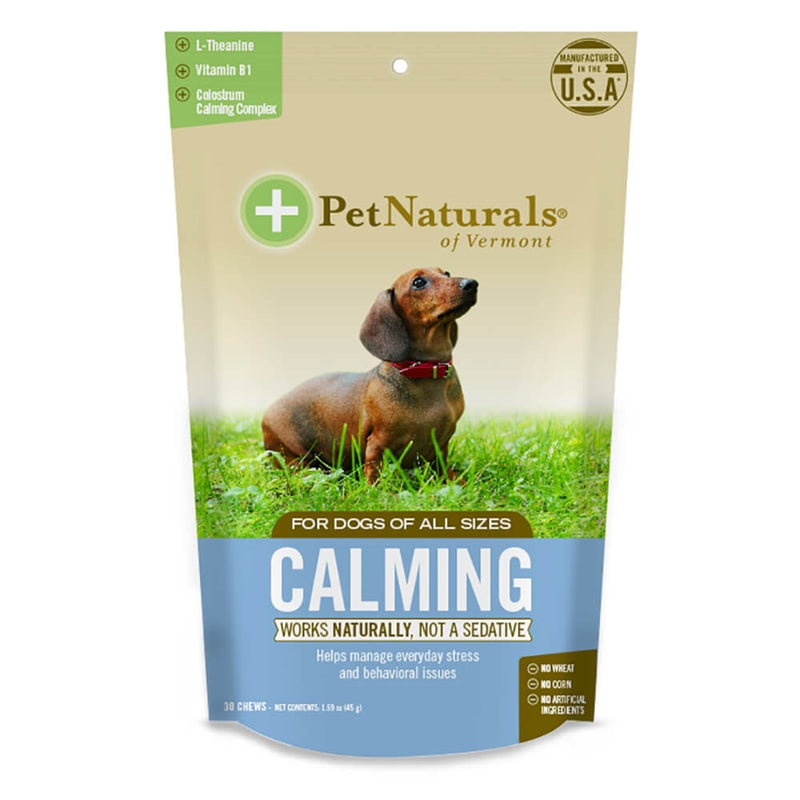 PET NATURALS OF VERMONT Dog Calming Chews 30 count