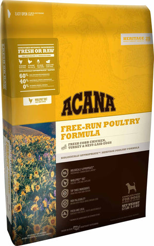 ACANA Heritage Free-Run Poultry Grain-Free Dry Dog Food