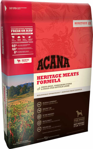 ACANA Heritage Meat Grain-Free Dry Dog Food