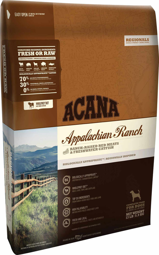 ACANA Appalachian Ranch Grain-Free Dry Dog Food