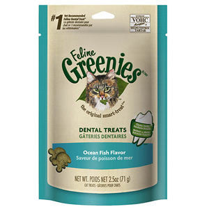 GREENIES Feline Ocean Fish Formula Dental Treats
