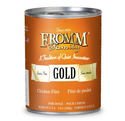 FROMM Gold Chicken Canned Dog Food 12/13 oz