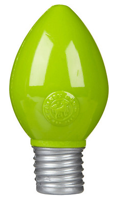 PLANTE DOG Orbee Green Light Bulb Toy