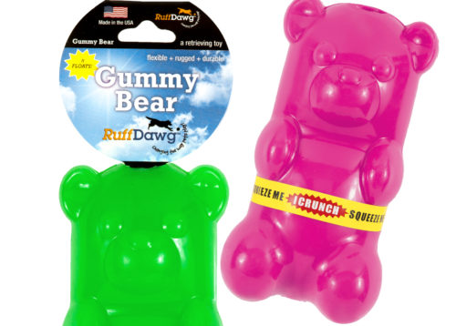 RUFFDAWG Gummy Bear Crunch Toy