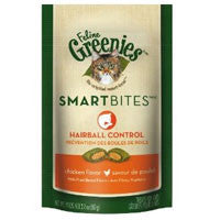 GREENIES Feline SmartBites Hairball Chicken Formula 2  oz.