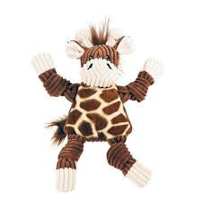 HUGGLEHOUNDS Knottie Giraffe Toy