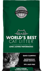 WORLDS BEST Clumping Forest Scented Cat Litter