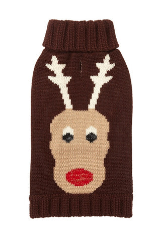 FAB DOG Reindeer Sweater