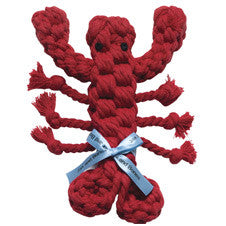 GOOD KARMA Lobster Rope Toy