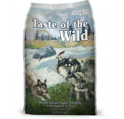 TASTE OF THE WILD Pacific Stream Puppy Grain-Free Dry Dog Food