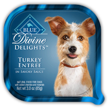 BLUE BUFFALO Divine Delights Turkey Entree 24/3oz
