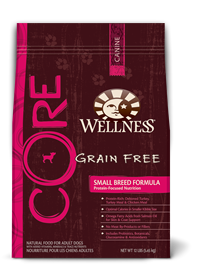 WELLNESS Core Small Breed Grain-Free Dry Dog Food 6/4 lb CASE