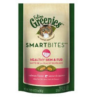 GREENIES Feline SmartBites Digestive Care Salmon Formula 2  oz.