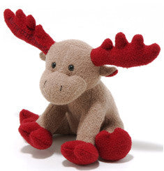 Woolie Red Moose Toy