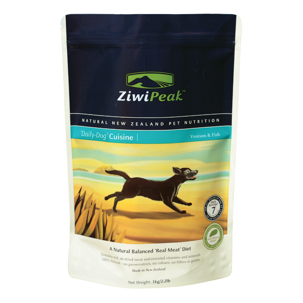 ZIWI PEAK Daily Dog Cuisine Venison & Fish Real Meat Dog Food
