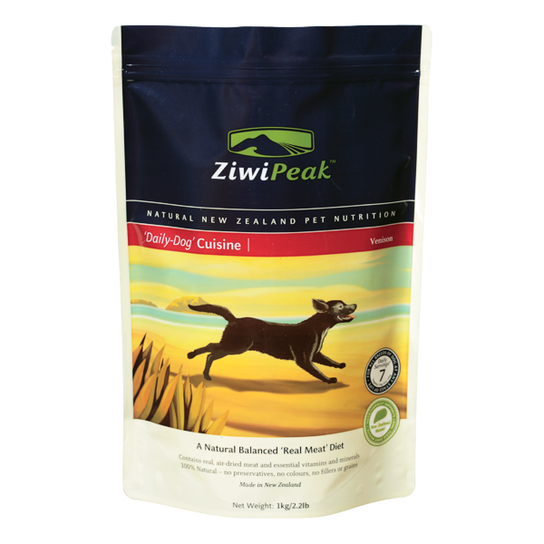 ZIWI PEAK Daily Dog Cuisine Venison Real Meat Dog Food