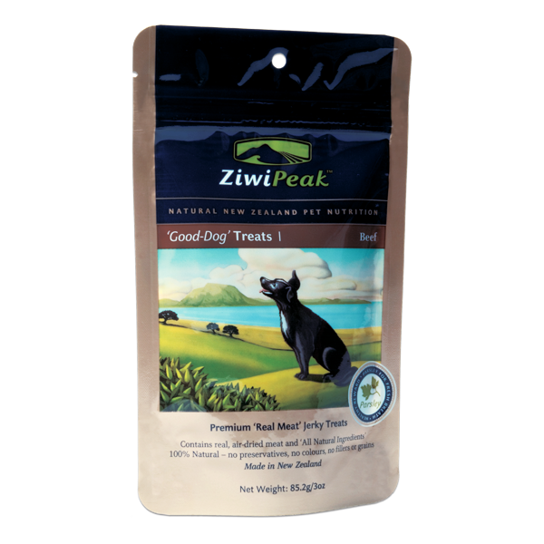 ZIWI PEAK Good Dog Beef Jerky Dog Treats