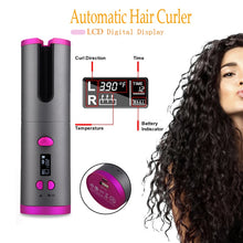 Load image into Gallery viewer, Haumea- Wireless Portable Rotating Ceramic Hair Curler