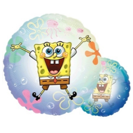 SpongeBob Round Crystal Balloon 26in / 67cm