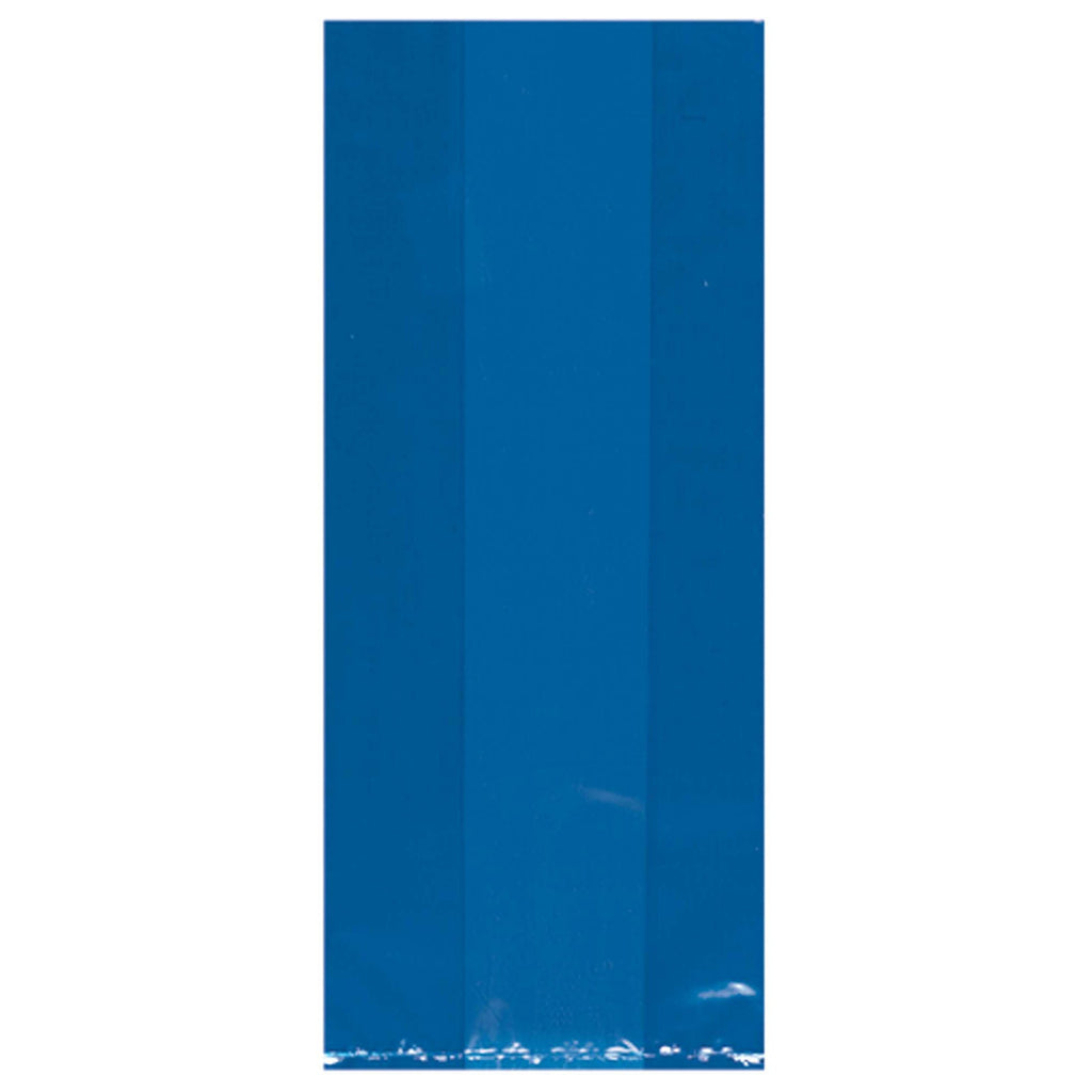 amscan-cello-party-bags-small-royal-blue-9.5in-x-4in-x-2in-pack-of-25-1