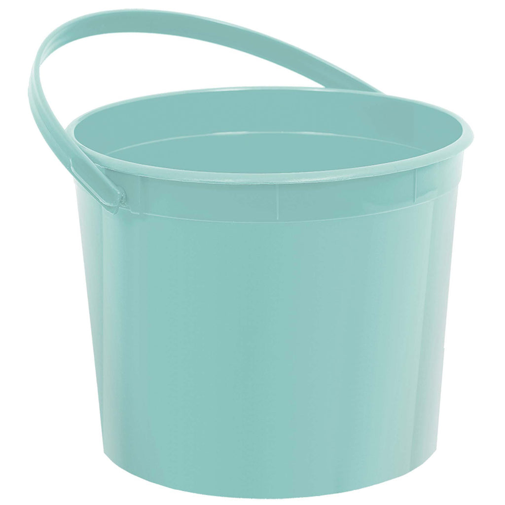 amscan-plastic-buckets-with-handle-robin's-egg-blue-1