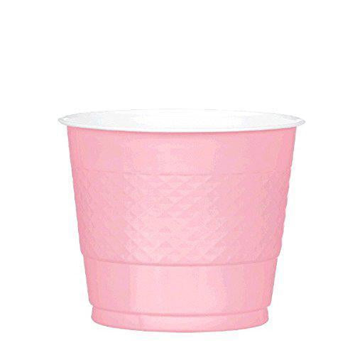 Plastic Cups 9oz - New Pink - Pack of 20