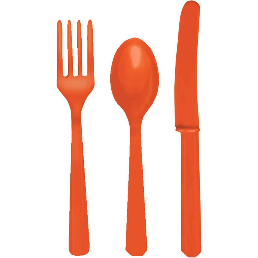 amscan-plastic-cutlery-forks-orange-pack-of-20-1