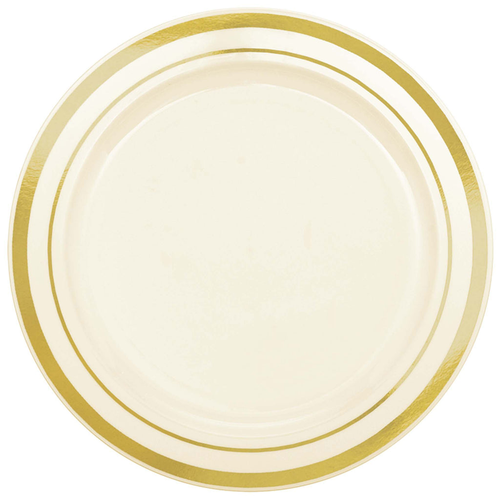 amscan-premium-plates-cream-with-h-s-gold-trim-6.25in-pack-of-20-1