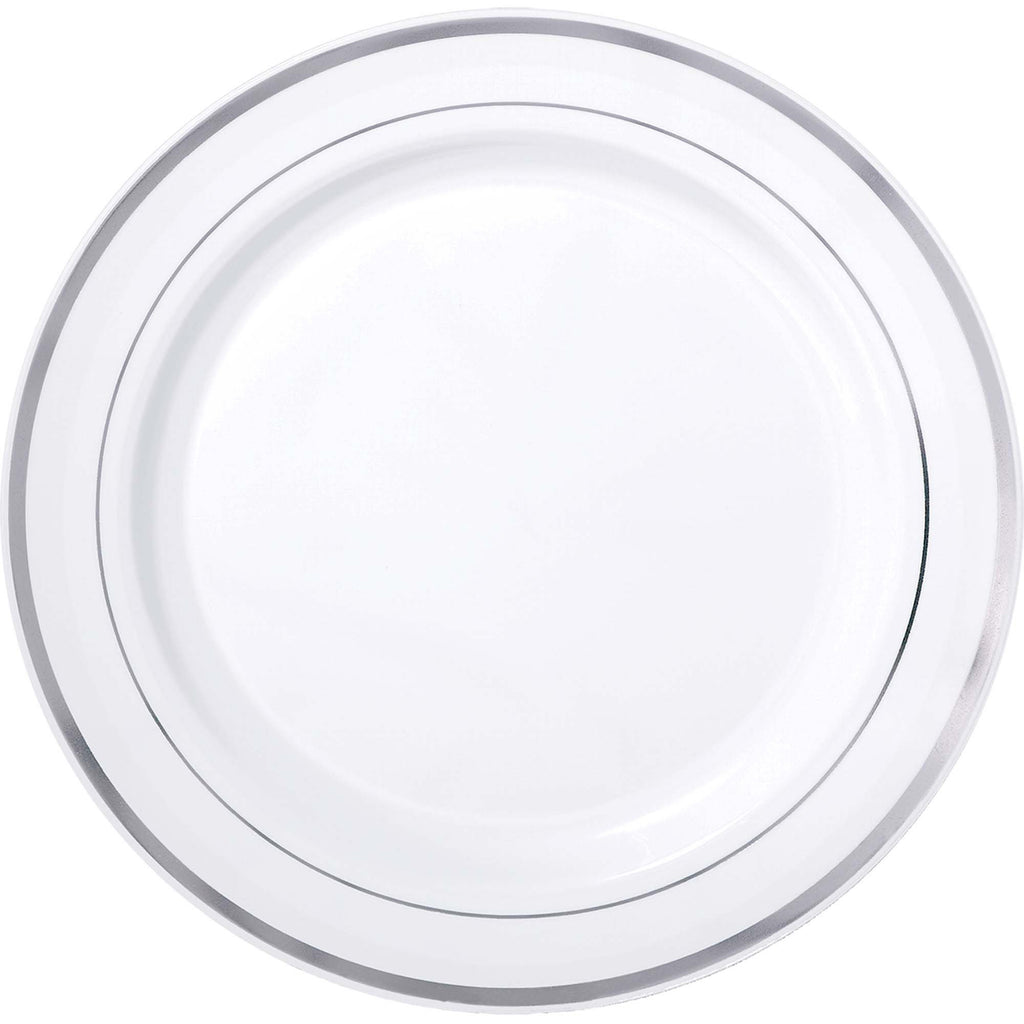 amscan-premium-plates-white-with-h-s-silver-trim-10.25in-pack-of-10-1