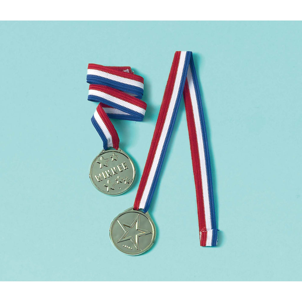 amscan-ribbon-with-pendant-award-ribbon-favor-pack of 12-1