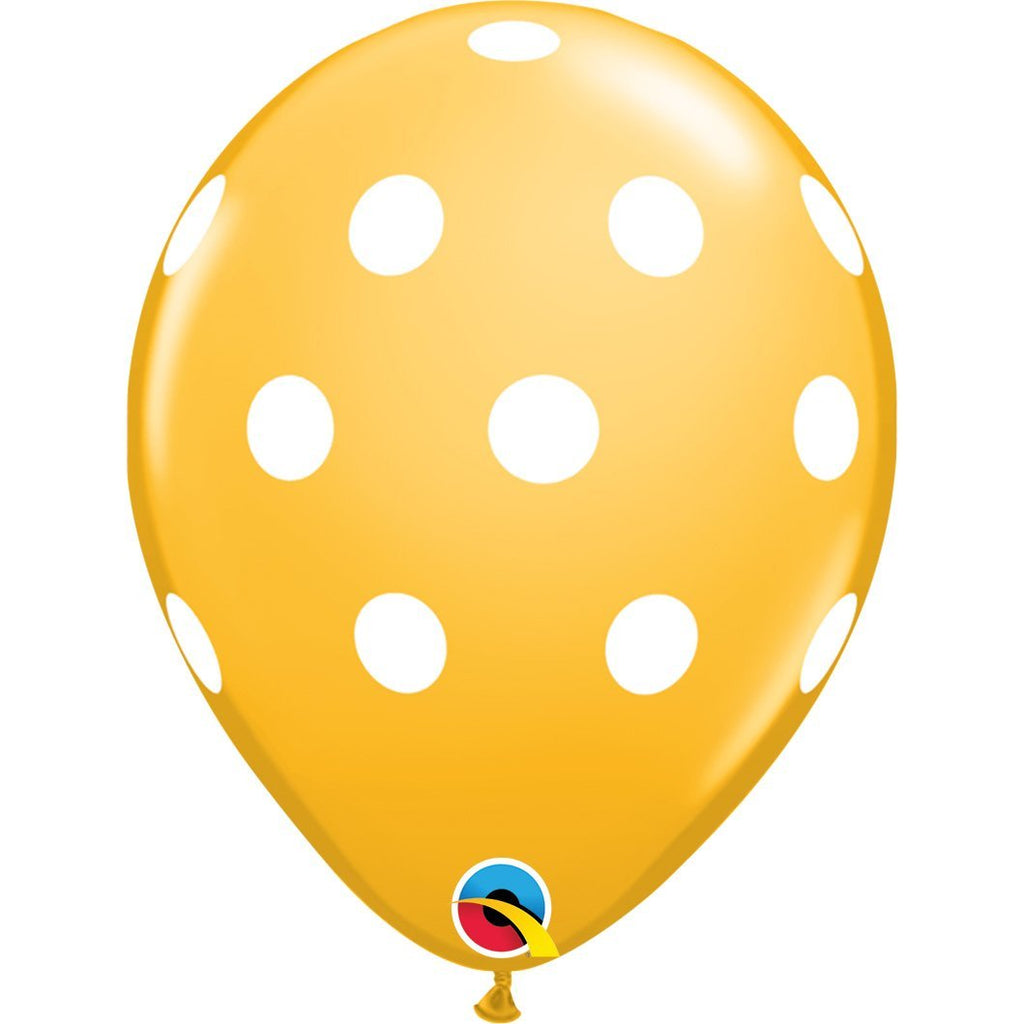 big-polka-dots-goldenrod-round-printed-latex-balloon-11-28cm-86421-1