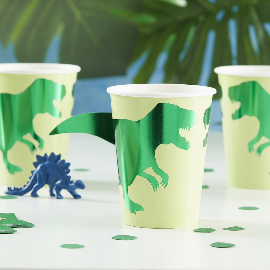 ginger-ray-dinosaur-paper-party-cups-roarsome-pack-of-8- (2)