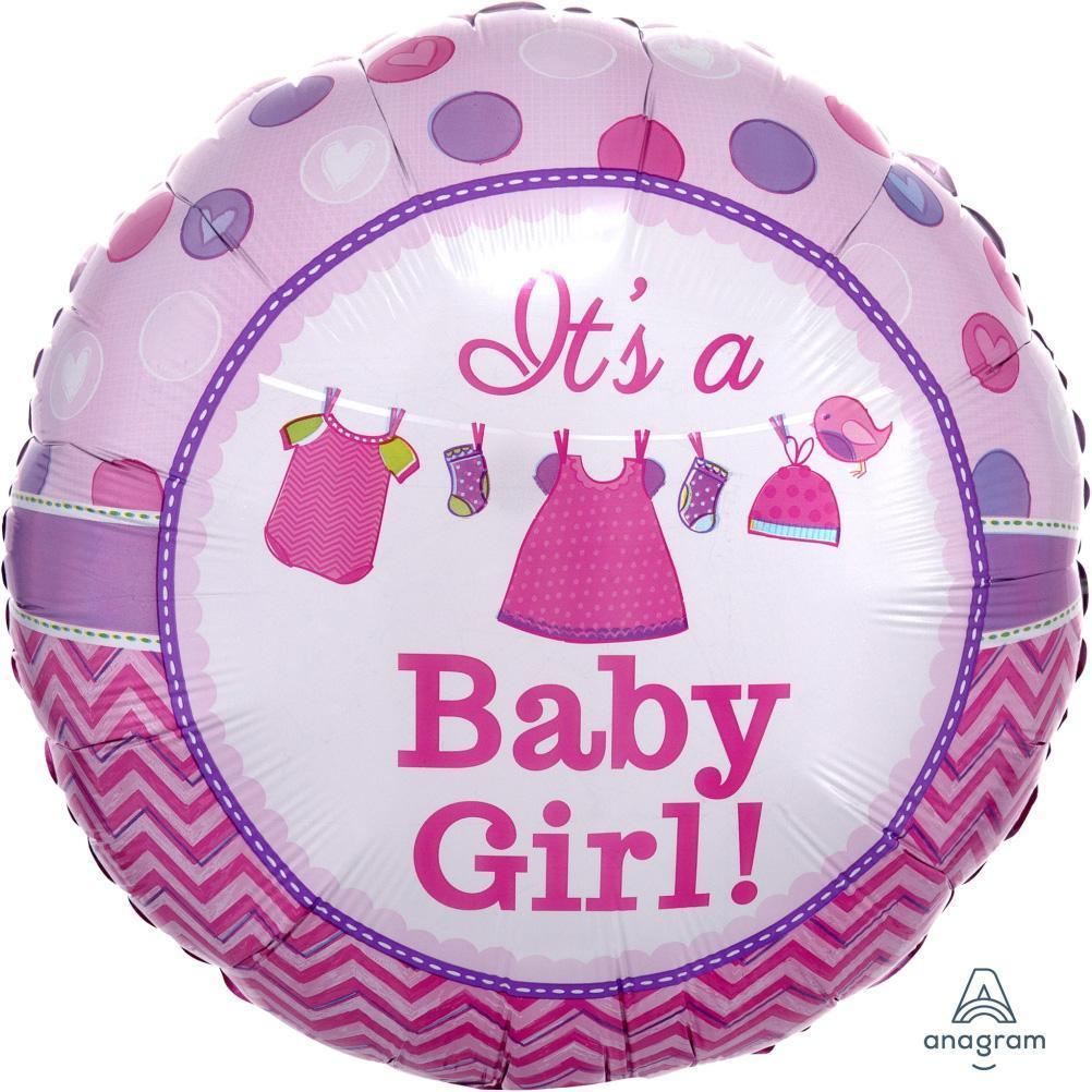 it's-a-baby-girl-shower-with-love-pink-round-foil-balloon-17in-44cm-30909-1
